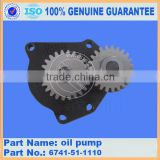 construction machinery parts gear oil pump 705-22-40090 for wa600-3 gear pump, loader genuine pump