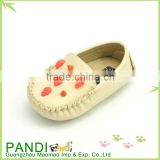 China factory name brand pretty baby girl shoes