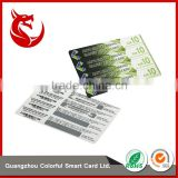 Hot selling glossy custom bar code lottery paper scratch card                                                                                                         Supplier's Choice