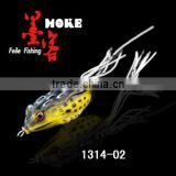 soft lures soft frog top quality with silicone skirts