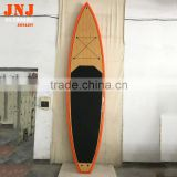 "12'x31""x5.5"" china factory bamboo travel sup stand up paddle board eps core epoxy fishing sup board"