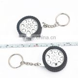 1m mini steel keychain shape tire custom tape measure stanley tools branded Your Logo or Name