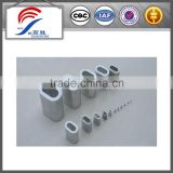 DIN3093 aluminum sleeve for steel wire rope