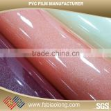 Factory Price Metallic Shinning PVC Panel Plastic Wrapping Film Lamination PVC Film                                                                         Quality Choice