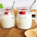 High Flint Coconut Pudding Glass bottle for Milk