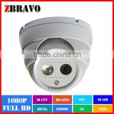 Indoor Sony Sensor 1920*1080 2Mega Pixel TVI camera 1080P 1pc Dot Array Security Dome HDTVI Camera Compatible with Hikvision DVR