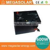 600W mini portable solar generator for home backup power