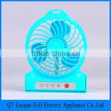 4 Inch CE Battery Operated Fan for Camping, 5V Rechargeable Battery Fan Wholesale