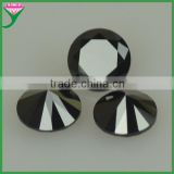 China Alibaba Wholesale Round Black Nano loose Rough Gemstone Prices, gemstone price list