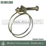 Stainless Steel Double Wire Hose Clamp