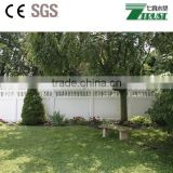 China decorative cheap vinyl fence used for sale,upvc fence manufacture in China