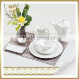 Wholesale japanese restaurant tableware, italian porcelain dinner set, cheap porcelain plate