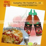 plastic bottle packing tomato ketchup 495G
