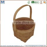 wholesale tray wooden storage basket potato storage basket fruit vegetable wooden basket