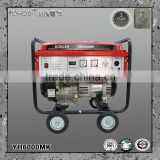 gasoline brushless portable electric generator without fuel