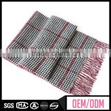 Factory directly 100% cashmere scarf, jacquard scarf for men, winter fashion men scarf
