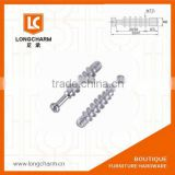 hanger bolts m6 furniture joint connector bolts connecter bolts for furniture from Guangzhou Hardware