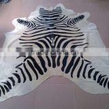 zebra cowhide rugs durable new design carpet                                                                         Quality Choice