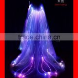 INQUIRY about Full color change led capes,stage show dance led lighted custom clothes,fiber optic light up dance dress