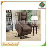 Microfiber Remote control Lift recliner chair sofa electric lift chair HY-S8237