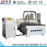 High Quality CNC Engraving Machine For Wood Acrylic ZKM-1325 1300*2500MM With Vacuum Table 6KW Big Power Air Cooling Spindle