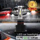 Factory direct auto parts high power car automotive led replacement headlight bulb kit h1 h3 h7 h9 h10 880 12000lumens