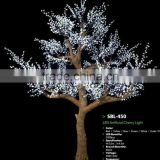 outdoor artificial decorative cherry blossom tree light,RGB led tree light,christmas tree light