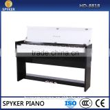HD-8818 Factory 88 keys Touch Sensitive Hammer Keyboard MIDI White Polish HUANGMA Digital Piano
