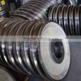 Factory price 2015 New Type and High quality Cast Crane Wheels, cranes Wheels