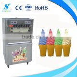 Speed cooling 2014 mobile food cart with frozen yogurt machine price (ICM-T395)