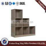 Commercial furniture type home and office exhibition useful bookshelf (HX-FL046)