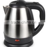India Hotel Electrical Appliance Mini 1.2L Mirro Polished Anti dry protection stainless steel kettle