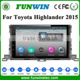 Funwin Double Din Pioneer Car Audio System Dvd Player For Toyota Highlander 2015 With Car Radio Gps Navigation