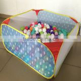 Large Kids Folding Multi- color Baby Portable Pit Ball Pool Playpen for Babies