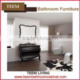 Teem home bathroom furniture Waterproof bathroom vanity unique bathroom sanitary ware with towel bar