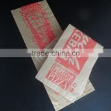 Wholesale china kraft paper bag for baguette bread,hamburger,sandwich