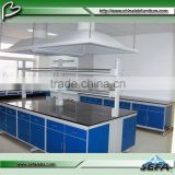 C-Frame used chemical all steel structure laboratory furniture chemistry pathology lab bench