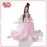 28cm Chinese plastic fairy girl doll collection