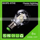 UL/CE/RoHS/ErP approval high end waterproof 360 degree NOT HEAT SINK liquid cooling system CooLED E27 led bulb