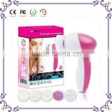 Hot Handy 5 in1 Electric Beauty Care face massager deep cleansing tool Facial Brush Face Spa Skin Cleaning Brush