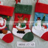 2016 18inch infants christmas socks funny decorative christmas santa socks for christmas gift