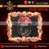 Quality Assured Best Material made Coconut Shisha Wood Charcoal for Sale at Minimum Cost