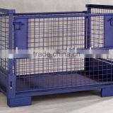 folding box steel wire crate