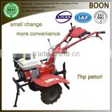 Mini rotary diesel 5hp/6hp/9hp gasoline 7hp/15hp power tiller cultivator factory price