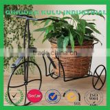 2015 new style creative willow wicker bicycle basket