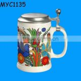 Wholesale ceramic German beer steins