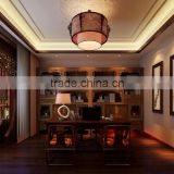 BISINI Latest Chinese Style Interior Study Room Design
