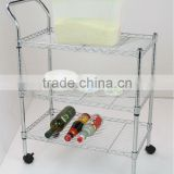 3 Tiers Kitchen Trolley