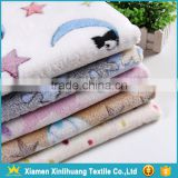 Custom 100% Polyester Printing Flannel Fabric for Bedding Set