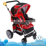 Stylish design comfortable baby product luxury high quality wholesale baby strollers prams with large storage
